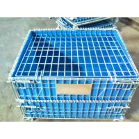 PP Board Protection Cover Wire Mesh Container For Small Parts Completeness Manufactures