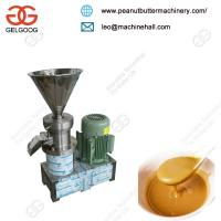 Good Quality Commercial Peanut Butter Grinder Machine for Stainless Steel Grinding Wheel Manufactures