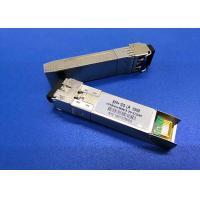 China TX1270nm DFB RX1330nm SFP+ transceiver module Simplex LC 10G 10KM BIDI on sale