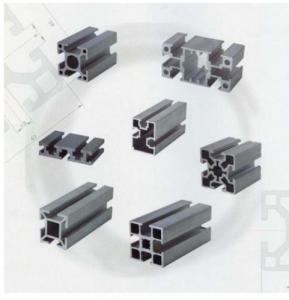 China 6063 Alloy aluminum profile industrial extrusoin aluminum profile  for solar panel on sale