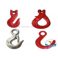6-26mm Crane Lifting Hooks , Steel Metal Eye Hooks For Lifting And Connecting Manufactures