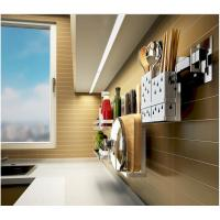Anti Bent Stainless Steel Wall Spice Rack Brushed Silver Color Easy Installation Manufactures