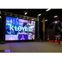 P3.91 Outdoor Led Media Wall  P4.81 500x500mm Size Anti - Corrosion Manufactures