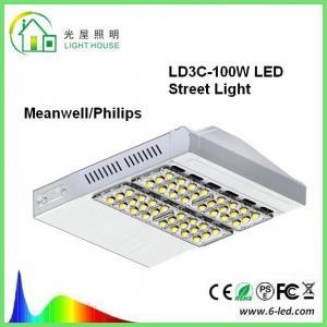 SMD3030 100 Watt Led Shoe Box Light Fixture 13000lm 100-277v 5000k Manufactures