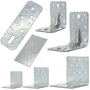 China High Performance Galvanized Steel Angle Brackets Building Corner Heat Treating on sale
