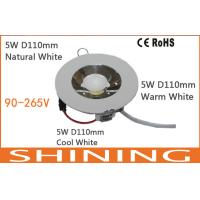 Energy Saving 5W 400Lm COB LED Downlight 6000K Cold White 120 Degree Manufactures