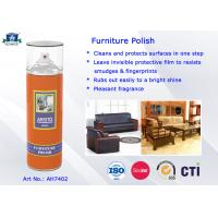 Household Care Highly Efficient Furniture Polish Aerosol Can Anti-UV and Eco-friendly Manufactures