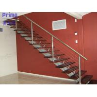 Wood Staircase Stainless Steel Cable Railing Manufactures