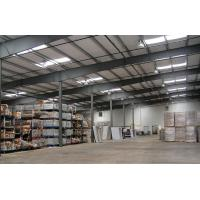 China Angle Bracing Prefabricated Steel Frame Buildings Warehouse Quick Build on sale