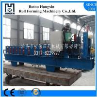 Aluminum Proifle Glazed Tile Roll Forming Machine with PLC Control System Manufactures