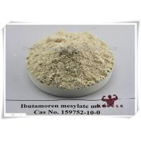99.6% Purity SARMS Raw Powder Mk677 / Mk-677 / Ibutamoren Mesylate CAS 159752-10-0 Manufactures