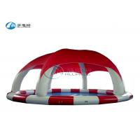multicolor inflatable round pool inflatable water pool with tent cover Manufactures