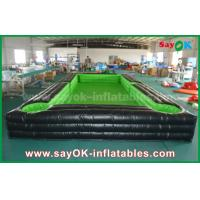 China Portable Giant Outside PVC Tarpaulin Inflatable Soccer / table tennis Court with CE Blower on sale