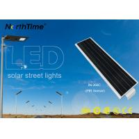 Pathway Solar Powered LED Street Light With Intensity Control Maintenance Free Manufactures