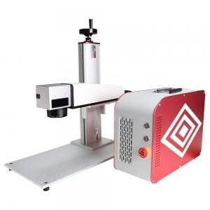 20 Watt Portable Fiber Laser Marking Machine For Steel Aluminum  Brass Red And Blue Manufactures