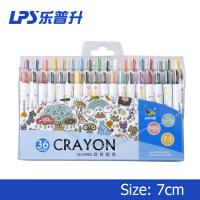 Multi Colored Crayons Short Twist Up Crayons 11cm 3 Years Shelf Life