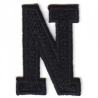 China 3d flat embroidery letter badge on sale