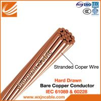 China Copper Stranded Wire,BC, Copper Bare Stranded Conductor IEC 61089 on sale