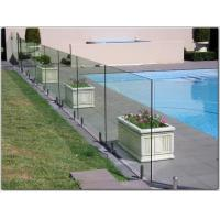 Exterior stainless steel spigot glass railing/ glass balustrade with free design Manufactures