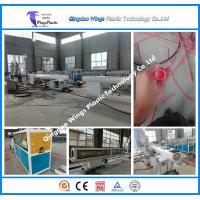 Plastic PE PPR Water Pipe Making Machine Manufactures