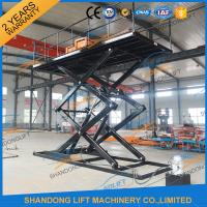 China CE TUV SGS Hydraulic Scissor Car Lift Scissor Car Parking Lift for Home Garage on sale