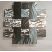 ODM Modern Abstract Stainless Steel Wall Sculpture For Home / Gallary Decoration Manufactures