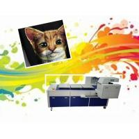 Digital T Shirt Printing Machine Direct To Garment Printer With 8 RICOH Print Heads Manufactures