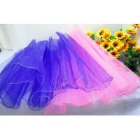 China Small Organza Gift Bags for Weddings , Velvet / Suede / Organza Drawstring Gift Bags on sale