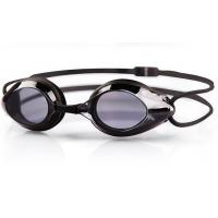 PC Lens Optical Swimming Goggles Black Color UV Shield Fashion Design Manufactures