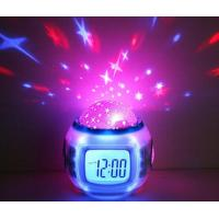Starry Sky Projection Calendar/ Digital Natural Sound Alarm Clocks with Thermometer Manufactures