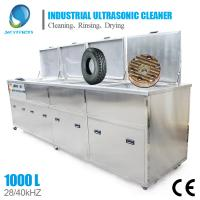 Clean Car Radiator Industrial Ultrasonic Cleaning Equipment With Big Tank Manufactures
