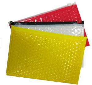 Custom Printed Bubble Package Envelope Plain End Style Zipper Design Manufactures