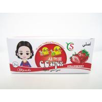 14.4g Strawberry flavor CC stick candy in box children's favorite healthy and yummy Manufactures