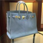 high quality 35cm light blue women brand name handbags TOGO leather bags designer handbags L-RB2-5 Manufactures
