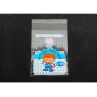 Clear Plastic Display Self Adhesive Poly Bags For Clothing Gloss Finish Manufactures
