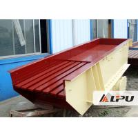 Quality High Feeding Capacity Vibrating Feeder Machine For Stone Crushing Plant , CE Standard for sale