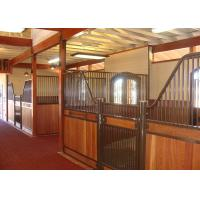 Custom Luxury Bamboo European Horse Stalls In Coating Surface Treatment Manufactures