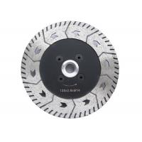 Double Side Stone Cutting Saw Blades / 4 Inch Stone Cutting Discs Various Designs Manufactures