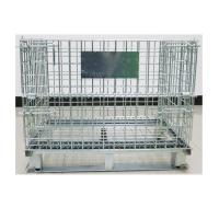 Motor Parts Wire Mesh Container Galvanized Stainless Collapsible Wire Basket Manufactures