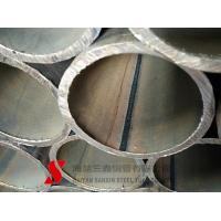 China Cold Drawn Round Welded Steel Pipe , Weldable Steel Tubing For Auto Parts on sale
