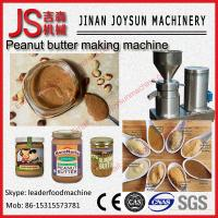 Stainless Steel Colloid Mill / Peanut Butter Machine 3 - 50 kg / h Capacity Manufactures