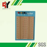 Quality 1680 Points Brown Solderless Circuit Board Twin Adhesive Back With Blue Plate for sale