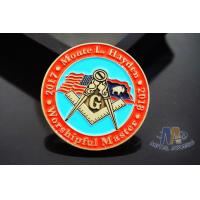 Lightweight Coast Guard Challenge Coins , Personalized Military Coins Eco Friendly Manufactures