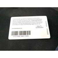 Buy cheap Sublimation Plastic Custom PVC Cards Barcode Qr Code Preprinted Round Corner from wholesalers
