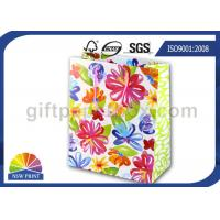 Reusable and Recycled Printed Wedding Paper Bag / Decorative Paper Gift Bags with Art Paper Manufactures
