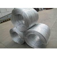 China Soft Hot Dipped Galvanized Wire , Mild Steel Binding Wire For Construction on sale