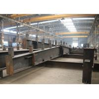 Q235 / Q345 Steel Warehouse Buildings , ASTM A123 Steel Structure Factory Manufactures