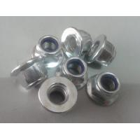 China Zinced Go Kart flange nylon lock nut / stainless steel bolts & nuts on sale