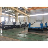 10 * 3200 Mechanical Metal Sheet Cutter Machines That Use Hydraulics 11KW Manufactures
