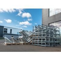 Quality Siemens Inverter FC Mast Climbing Work Max 32.2m Length Platforms for Material Loading for sale